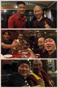 (3日目)【チベット人の仲間と食事会】