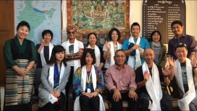 教育大臣の執務室でミーティング 2015.10.5