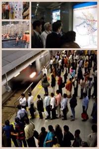 Vol.44 コラム ちびっとインド情報【インドのメトロ(地下鉄)】