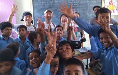 NPOレインボーチルドレン スラムプロジェクト 公立学校にて