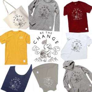 <販売終了>ファッションで応援しよう!Be The Change Project オリジナル雪獅子デザイン