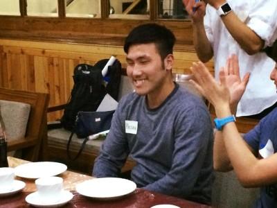 誕生日のKelsangのお祝いもありました。 Happy Birthday Kelsang ✨