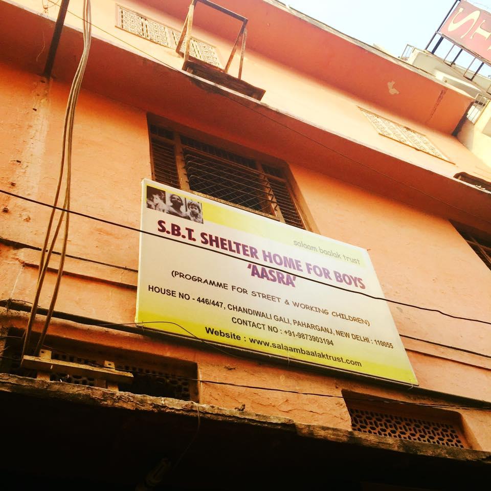 さて、いよいよ出発! SALAAM BAALAK TRUSTはストリートチルドレンを支援する現地NGOです。