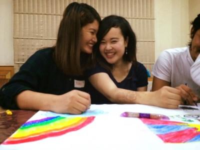奨学生とも強い絆を築き上げました。
