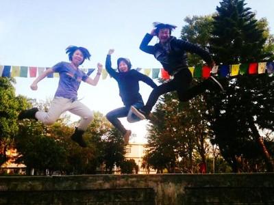 Jumper!! By Mai × Akari × Sato-san
