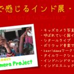 五感で感じるインド展を開催します(4/1-9横浜中華街Art Baboo146)
